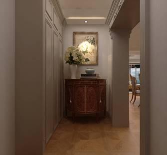 豪华型130平米三室一厅美式风格玄关效果图