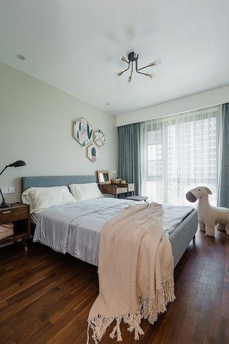 富裕型140平米四室一厅北欧风格卧室装修案例