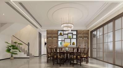 20万以上140平米别墅美式风格餐厅图片