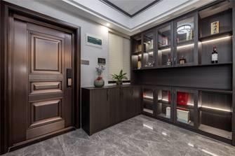 15-20万110平米三室两厅中式风格衣帽间图