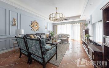 富裕型100平米三室两厅混搭风格餐厅装修图片大全
