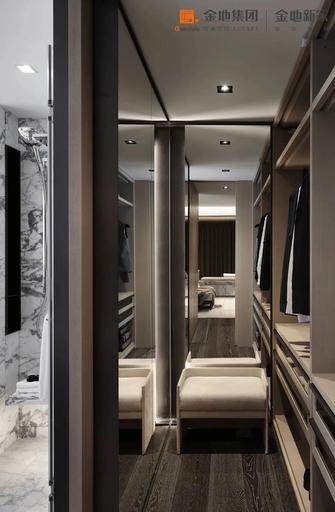 140平米三室两厅现代简约风格衣帽间装修图片大全