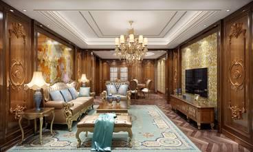 豪华型140平米三室两厅新古典风格客厅设计图