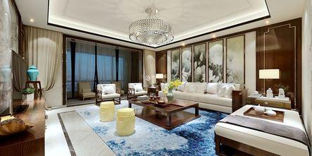 5-10万140平米四中式风格客厅装修案例
