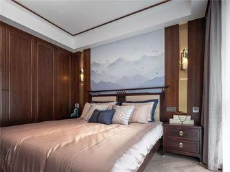 140平米三室一厅中式风格卧室欣赏图