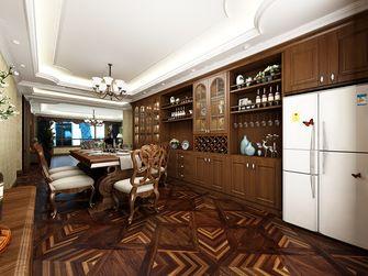 140平米美式风格餐厅装修案例