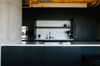 富裕型90平米公寓工业风风格厨房图