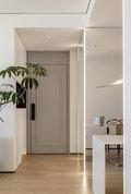 90平米三室一厅现代简约风格玄关欣赏图