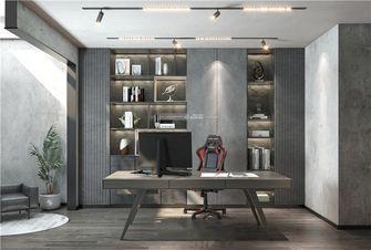 110平米四室两厅混搭风格书房图片大全