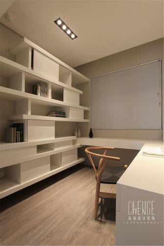 10-15万100平米三室两厅日式风格书房图片
