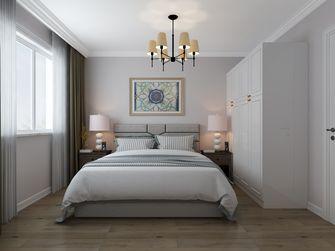 富裕型140平米三室一厅美式风格卧室装修案例