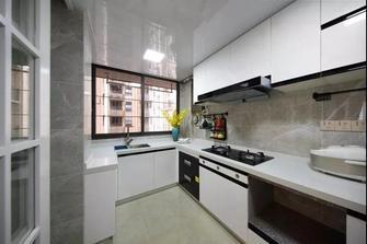 110平米三美式风格厨房装修图片大全