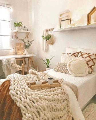 经济型60平米一室一厅混搭风格卧室效果图