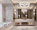 140平米四室两厅港式风格卫生间设计图