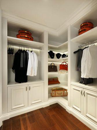 豪华型140平米四室两厅美式风格衣帽间设计图