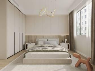 130平米三室两厅现代简约风格卧室装修案例
