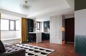 富裕型90平米一室一厅新古典风格客厅装修效果图