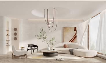 20万以上140平米四室三厅现代简约风格客厅效果图