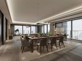 豪华型140平米三室两厅中式风格客厅装修案例