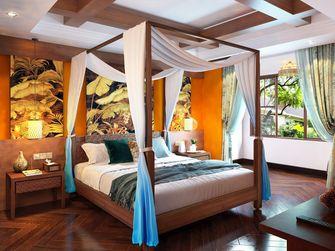 10-15万130平米四室两厅东南亚风格卧室效果图