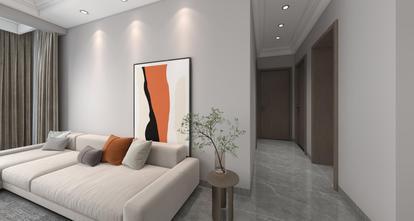 130平米三现代简约风格走廊装修图片大全