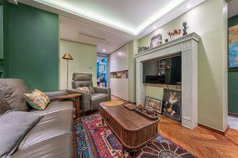 富裕型一室一厅美式风格客厅效果图