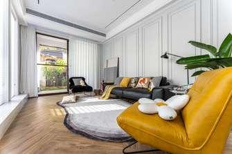 经济型140平米别墅混搭风格客厅图片大全