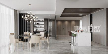 豪华型140平米复式现代简约风格餐厅欣赏图