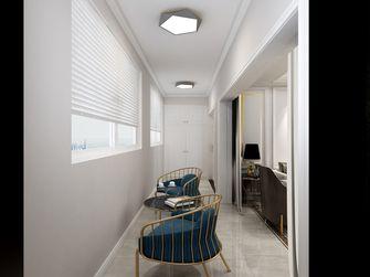 经济型140平米三室三厅轻奢风格阳台装修效果图