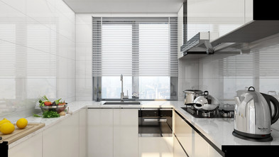 15-20万70平米现代简约风格厨房图