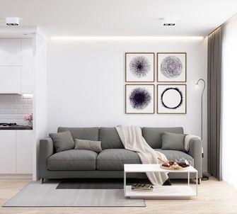 经济型70平米公寓北欧风格客厅设计图