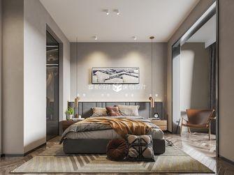 140平米别墅英伦风格卧室装修图片大全