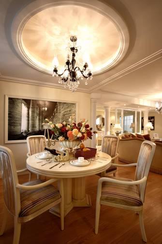 60平米三欧式风格客厅装修案例