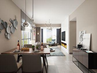 80平米四现代简约风格客厅装修效果图