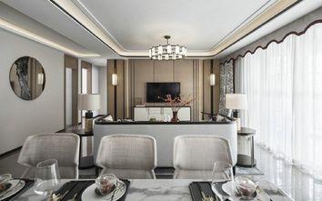 20万以上130平米四室一厅中式风格餐厅欣赏图