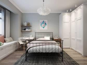 豪华型40平米小户型北欧风格卧室效果图