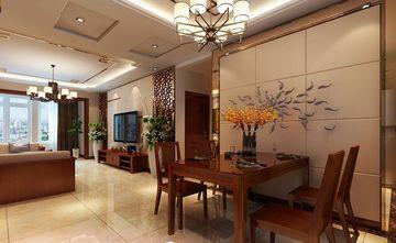 140平米三室一厅中式风格餐厅图片