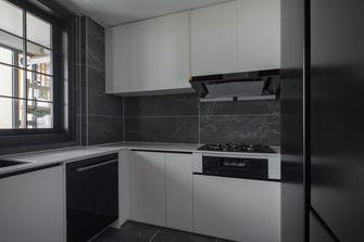 豪华型130平米四室两厅美式风格厨房图片