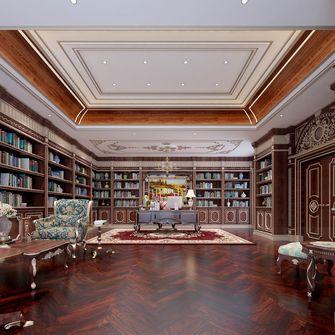 140平米别墅法式风格书房图片大全