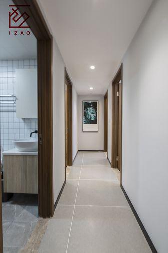 富裕型80平米现代简约风格走廊装修案例