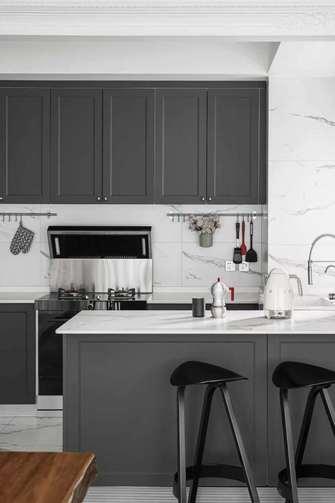 5-10万140平米四室两厅法式风格厨房效果图