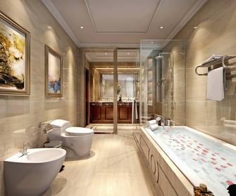 豪华型140平米欧式风格卫生间设计图