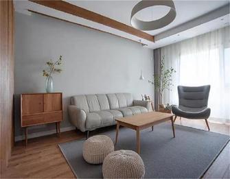 5-10万100平米三室一厅田园风格客厅图片大全