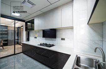富裕型三现代简约风格厨房效果图