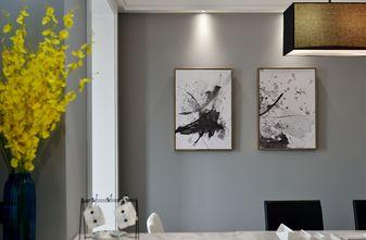 经济型90平米四室一厅轻奢风格餐厅设计图