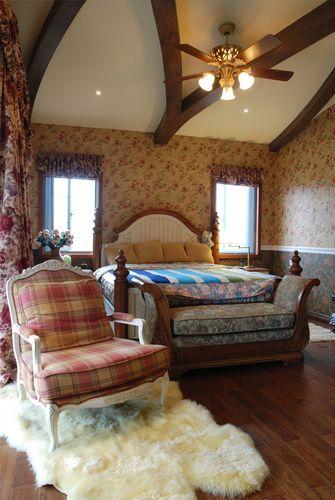 140平米别墅地中海风格卧室装修图片大全
