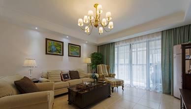 富裕型三室一厅美式风格客厅设计图