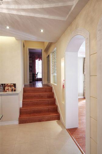 15-20万140平米三室两厅欧式风格楼梯间欣赏图