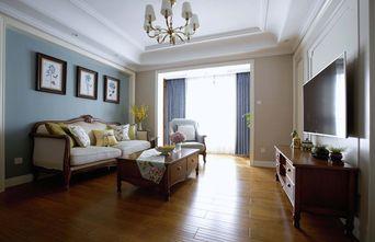 经济型60平米美式风格客厅装修效果图