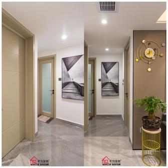 140平米三室两厅轻奢风格走廊图